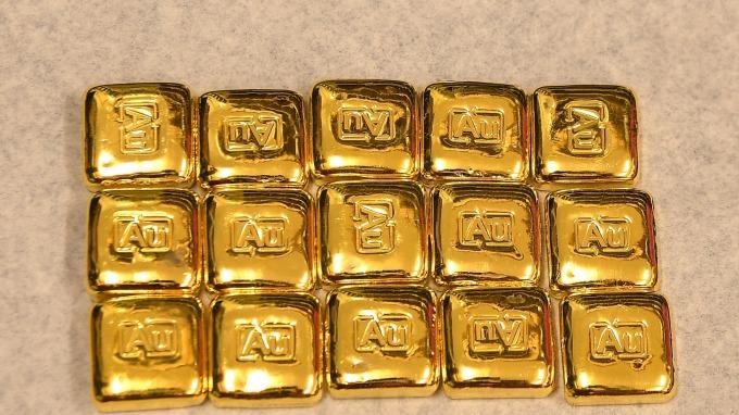 本地金價漲勢持續 印度黃金回收量創7年新高 (圖:AFP)