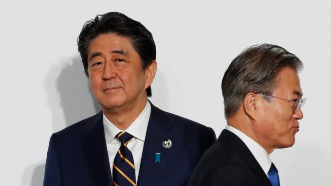 韓媒:南韓考慮在GSOMIA毀約、並對日本採取貿易報復!(圖片:AFP)