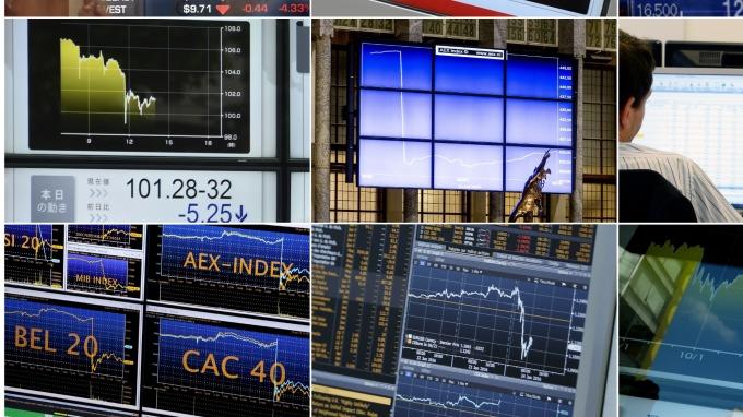 歐股盤後─川普重燃中美貿易戰 泛歐指數大幅收低2.46% (圖片:AFP)