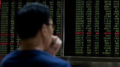 A股現陰霾,庫藏股成救命丹?(圖片:AFP)