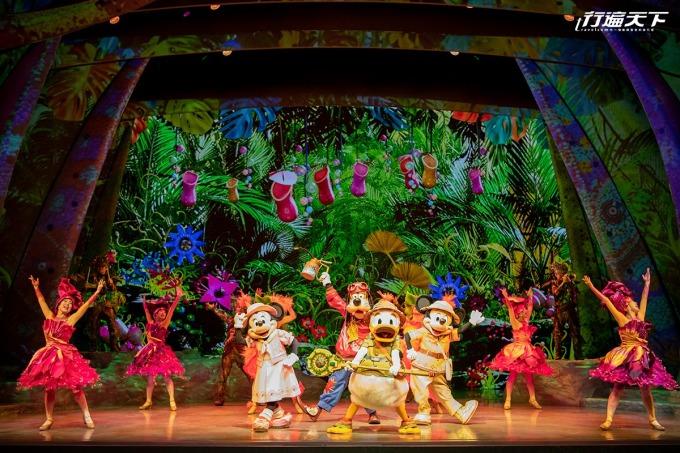 「幻境頌歌」讓人置身於迪士尼的歡樂與歌唱氣氛中。