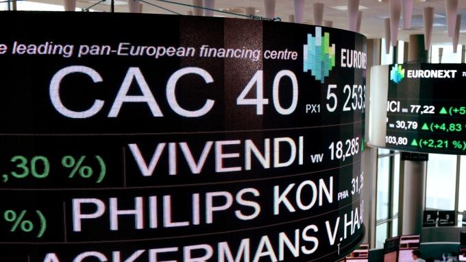 歐股盤後─人民幣跌破逾十年重要關卡 泛歐指數收低2.31% (圖片:AFP)