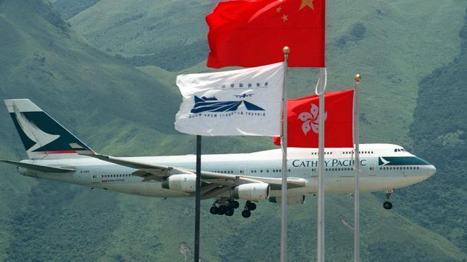 香港示威活動恐影響國泰航空未來業績(圖片:AFP)