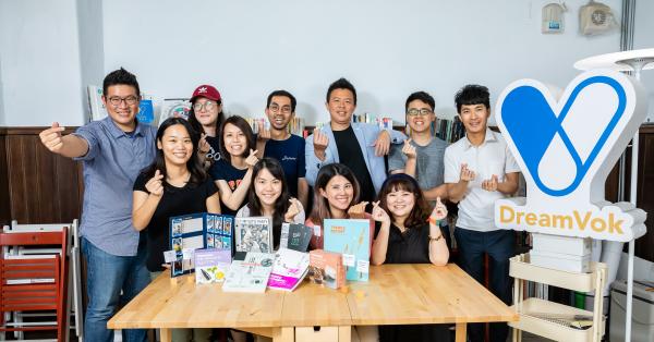工研院第一家新創的創新設計顧問公司「意集設計(DreamVok)」。