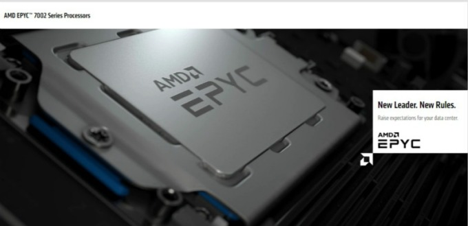 華爾街分析師皆看好 AMD 未來的伺服器市佔比將攀高。(圖片:AMD 官網)