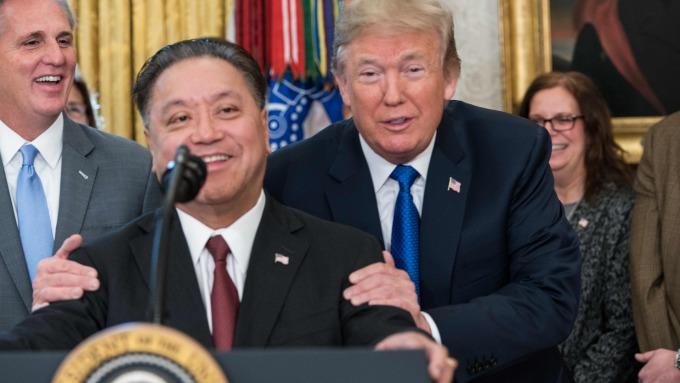 博通執行長Hock Tan收購高通案曾遭川普介入告終(圖片:AFP)