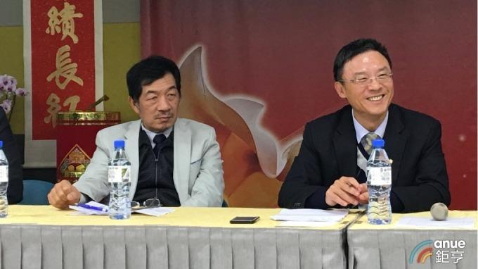 左起為鈊象總經理江順成、董事長李柯柱。(鉅亨網資料照)
