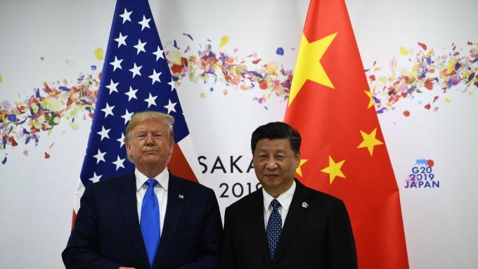 川普威嚇:美方不會和華為做生意 9月美中談判取消無妨。(圖片:AFP)