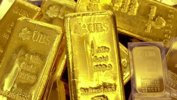 黃金走高 創六月以來最大週增幅逾4% (圖片:AFP)