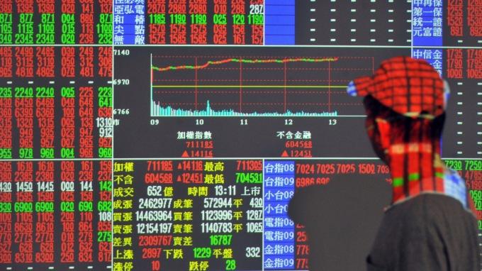 台股單腳反轉? 打第2腳? 這回看「44」。(圖:AFP)