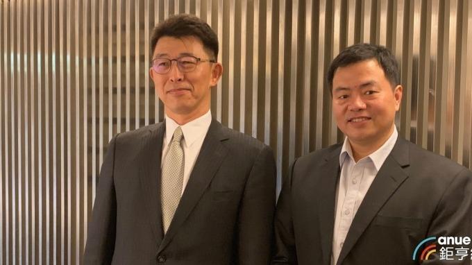 左起為茂迪財務長陳建志、總經理葉正賢。(鉅亨網資料照)