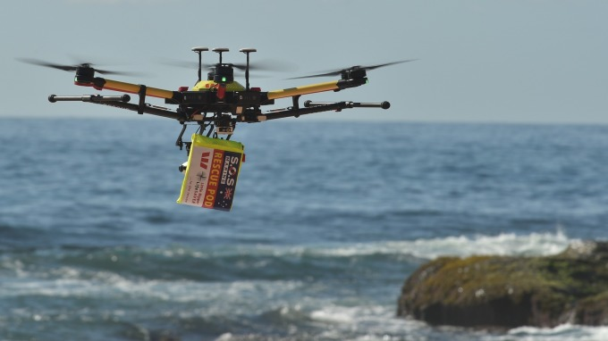 ANA全日空預定2020年之後、使用無人機投入物流服務。(圖片:AFP)