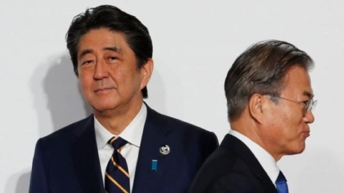 日韓衝突持續 韓國擬放棄國家退休基金對日企的投資 圖片:AFP