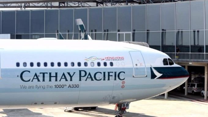 香港宣布緊急宣布取消所有離境航班(圖片:AFP)