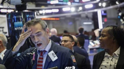 小型股落後大盤 指向股市觸頂?其實另一種指標更加準確 (圖片:AFP)