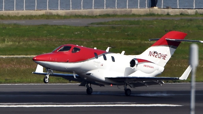 HONDA小型商務客機、連3年拿下H1冠軍寶座!(圖片:AFP)