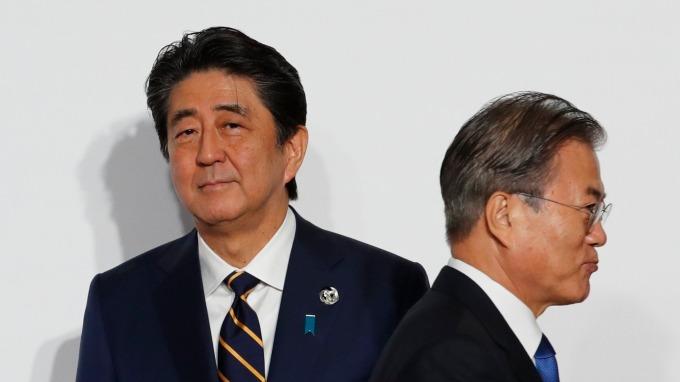 日指南韓未給明確理由、影響應有限。(資料照片) (圖片:AFP)