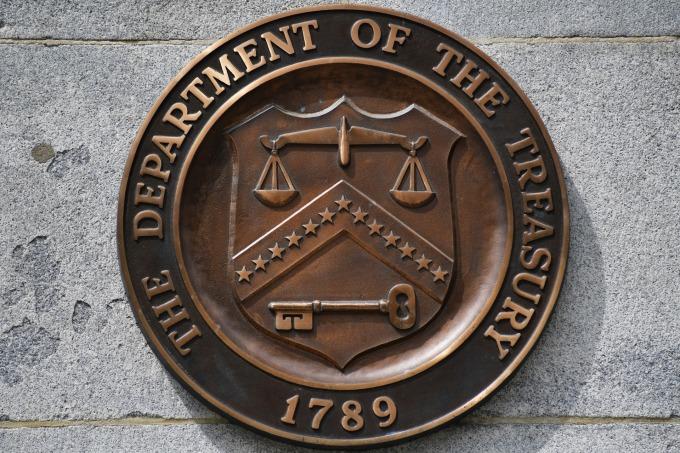 美國財政部將在今年年底之前再發行 8000 億美元的新債。(圖:AFP)