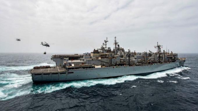 美國防部:中國拒絕兩艘美國軍艦訪問香港港口 (圖片:AFP)