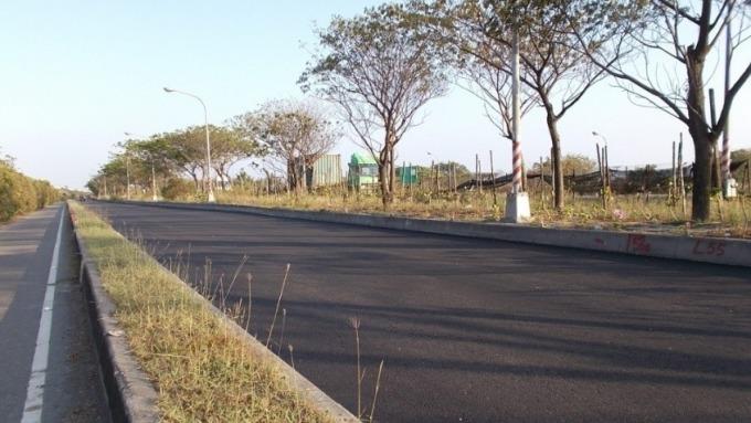 中鋼集團轉爐石瀝青混凝土已實際應用,圖為高雄市南星路轉爐石瀝青混凝土道路。(圖:中聯資源提供)