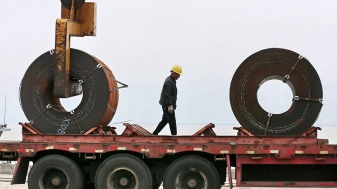 中國7月工業增加值不如預期 年增4.8%(圖片:AFP)