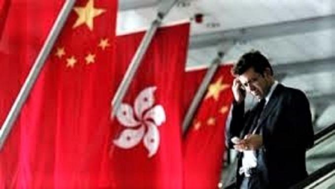 反送中抗爭惡化 香港銀行業獲利空間遭調降。(圖:AFP)