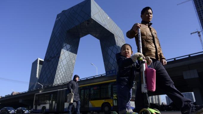 中國宏觀:政策繼續寬鬆,為增長提供緩衝。(圖:AFP)