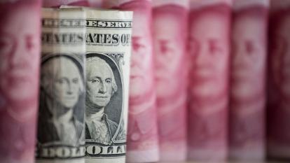 美銀美林分析人民幣在貿易戰中的三套劇本(圖:AFP)