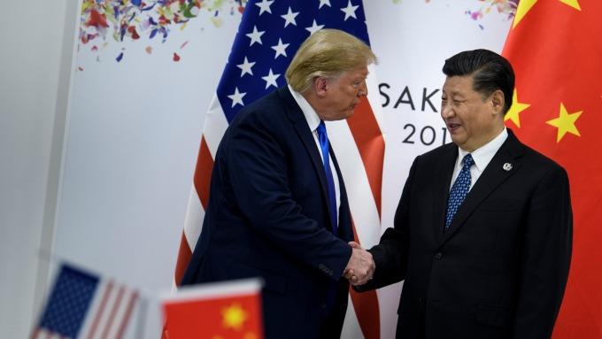 白宮反駁經濟衰退隱憂 美中協議與香港掛勾。(圖片:AFP)
