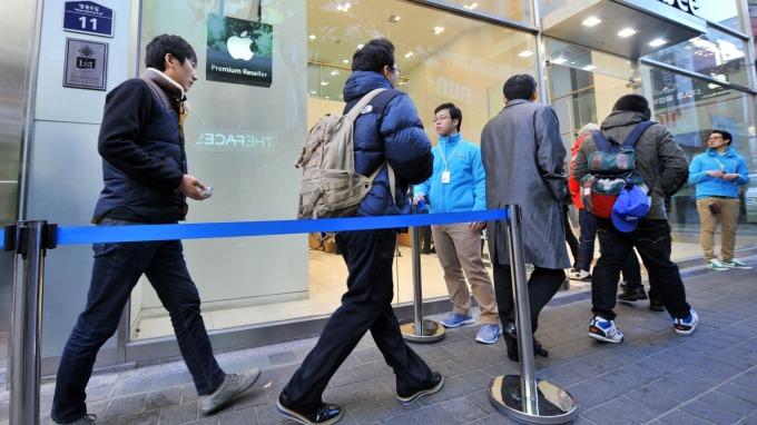 蘋果首次公布在南韓的勞動力資訊 受雇員工成長速度驚人 圖片:AFP