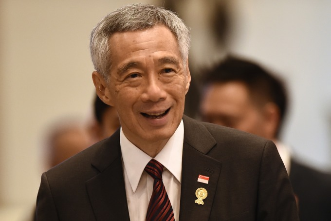 新加坡總理李顯龍 (圖:AFP)
