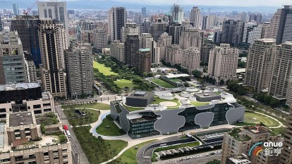 房市漸回溫,台北市上半年住宅開工戶數高成長而台中衝第一。(鉅亨網記者張欽發攝)