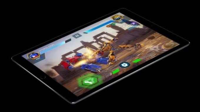 蘋果於iPad上的 Pro Motion 技術(圖片:www.phonearena)