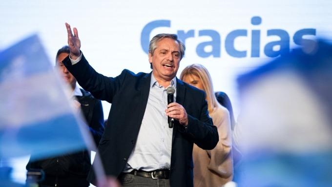 阿根廷總統候選人Alberto Fernandez(圖片:AFP)