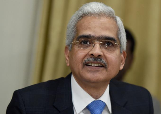 印度儲備銀行總裁 Shaktikanta Das (圖:AFP)