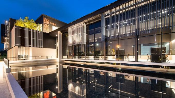 新店央北重劃區標地熱,吸引各家建商搶地。圖為「誠鑫」接待中心。(圖/鉅亨網資料照)