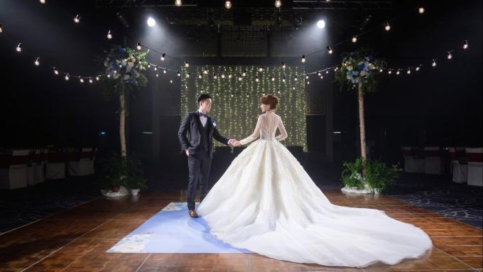 台北晶華力推主題婚禮衝刺宴會市場。(圖:晶華提供)