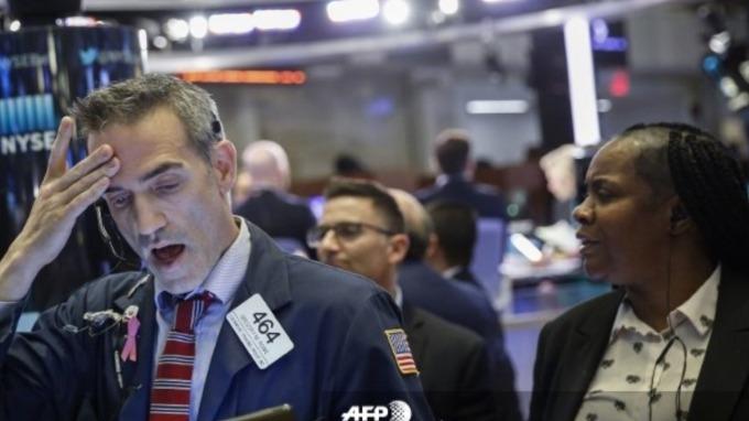 美銀美林:經濟衰退可能性 創8年來最高 (圖片:AFP)