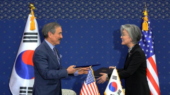 美駐南韓大使哈里斯:盼南韓企業協助修復日韓關係。(資料照片) (圖片:AFP)