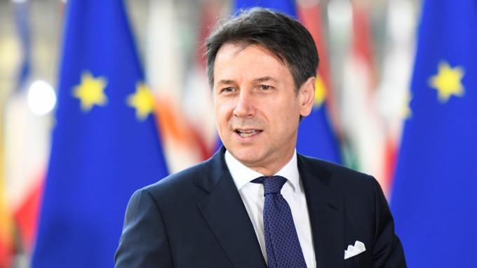 義大利總理孔蒂週二宣布辭職。(圖片:AFP)