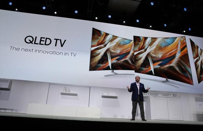 三星電視銷售旺!2019 年 Q2 稱霸全球市場、創 6 年來新高。(圖片:AFP)