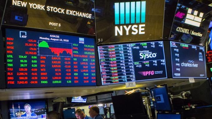 美股成交量大減 波動劇烈 謹記華爾街箴言:別在枯燥時做空(圖:AFP)
