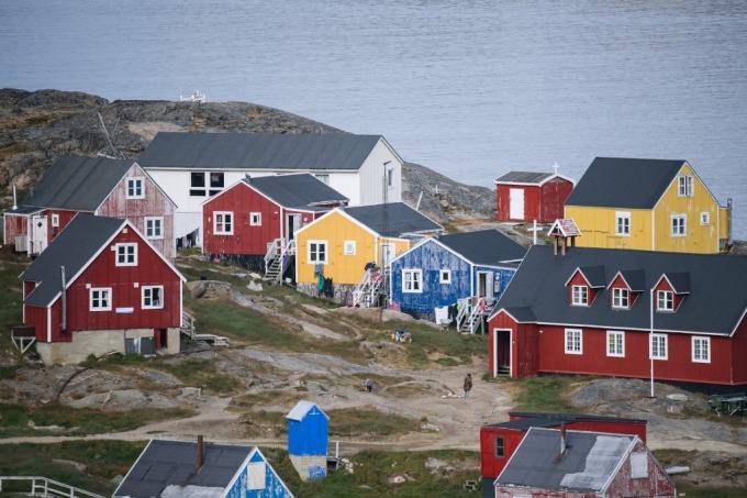 格陵蘭 (圖: AFP)