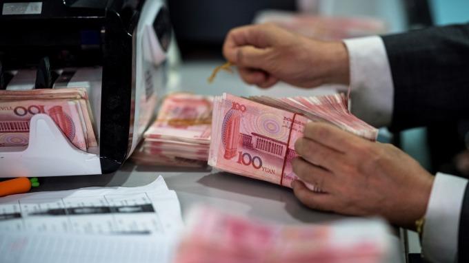 人民幣週四貶破11年新低 在岸破7.075 (圖片:AFP)