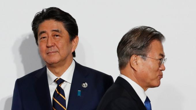 青瓦台不續簽GSOMIA 南韓國內看法正反兩極。(圖片:AFP)