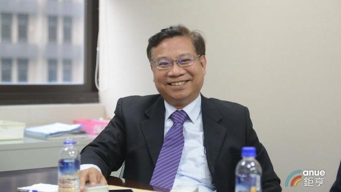 群翊工業董事長陳安順。(鉅亨網記者張欽發攝)