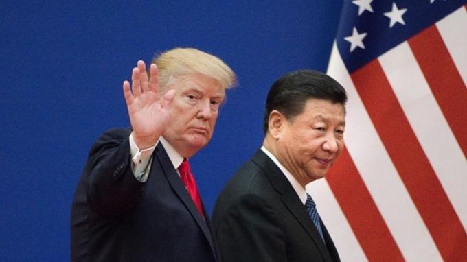 不再稱為朋友!川普發文對習近平貼上「美國敵人」之標籤 (圖片:AFP)