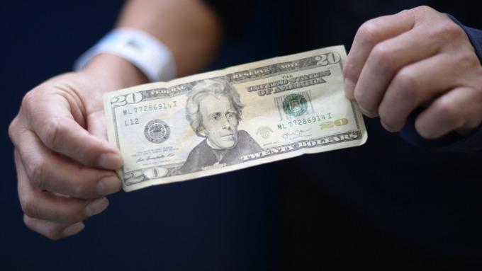 川普推文引發干預之憂 美元指數下跌(圖:AFP)