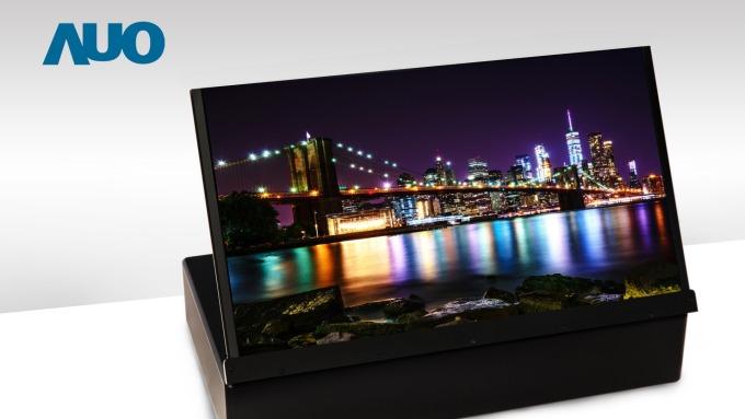 各大廠推Micro/Mini LED、折疊應用,友達17.3吋UHD 4K噴墨印刷OLED顯示技術。(圖:友達提供)