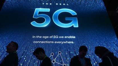 5G白牌小基站最大商機將在終端應用。(圖:AFP)